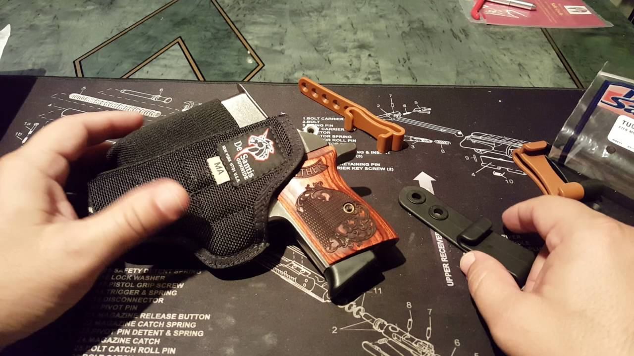 De Santis Tuck This 2 Walther PPK Holster