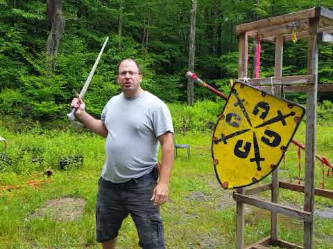 Krumphau use in sword and shield combat