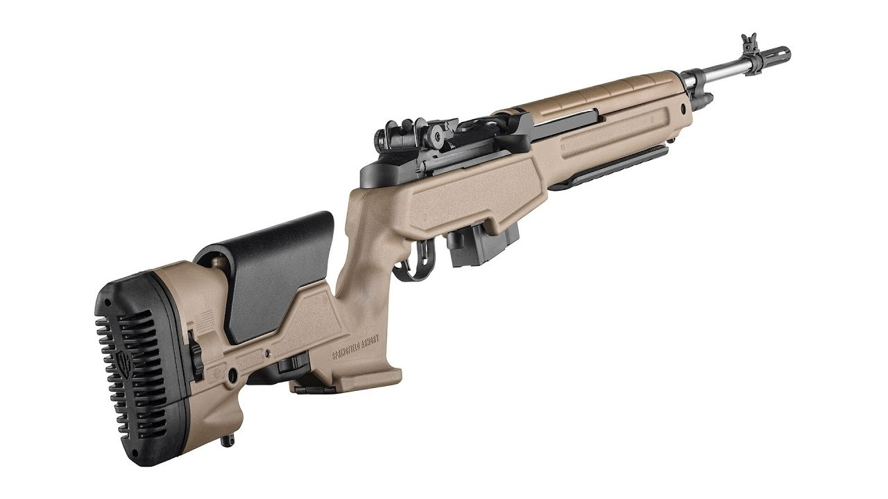 How to Install an Archangel Stock on a Springfield Armory M1A Scout Squad Rifle #596