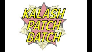 Kalash Patch Batch 2019 - Kool New Kalashnikov Patch Sets - Grab Some Kalashnikov Patch Designs