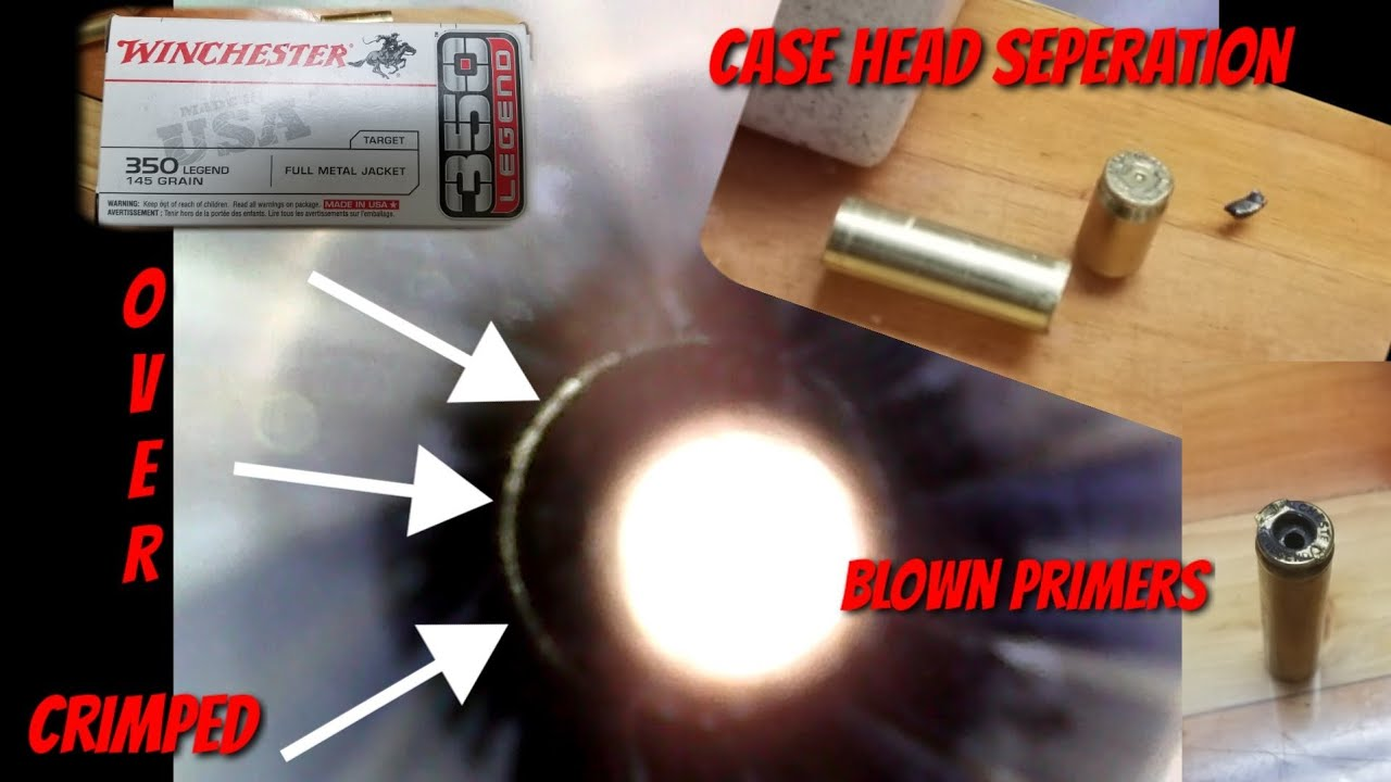 *SHOOTERS BEWARE!* Factory Winchester 350 Legend 145gr Ammo - MAJOR ISSUES