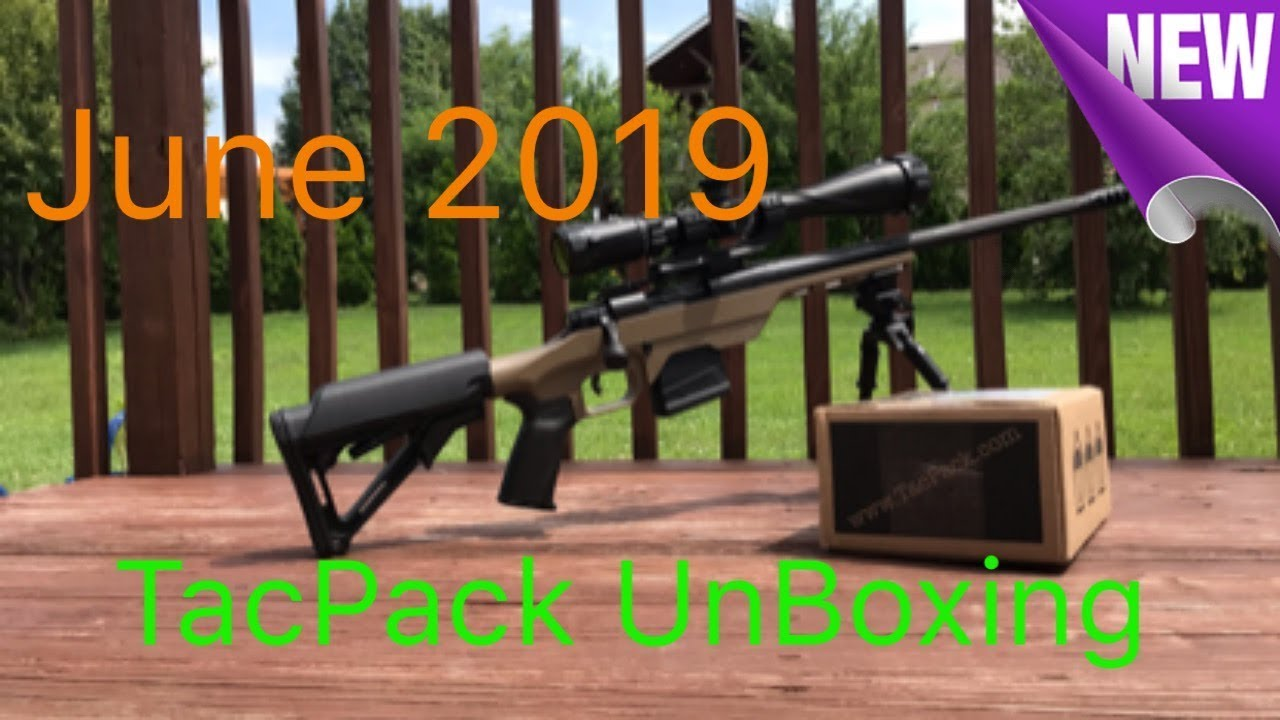 TacPack June 2019  unboxing (Not what I was expecting)