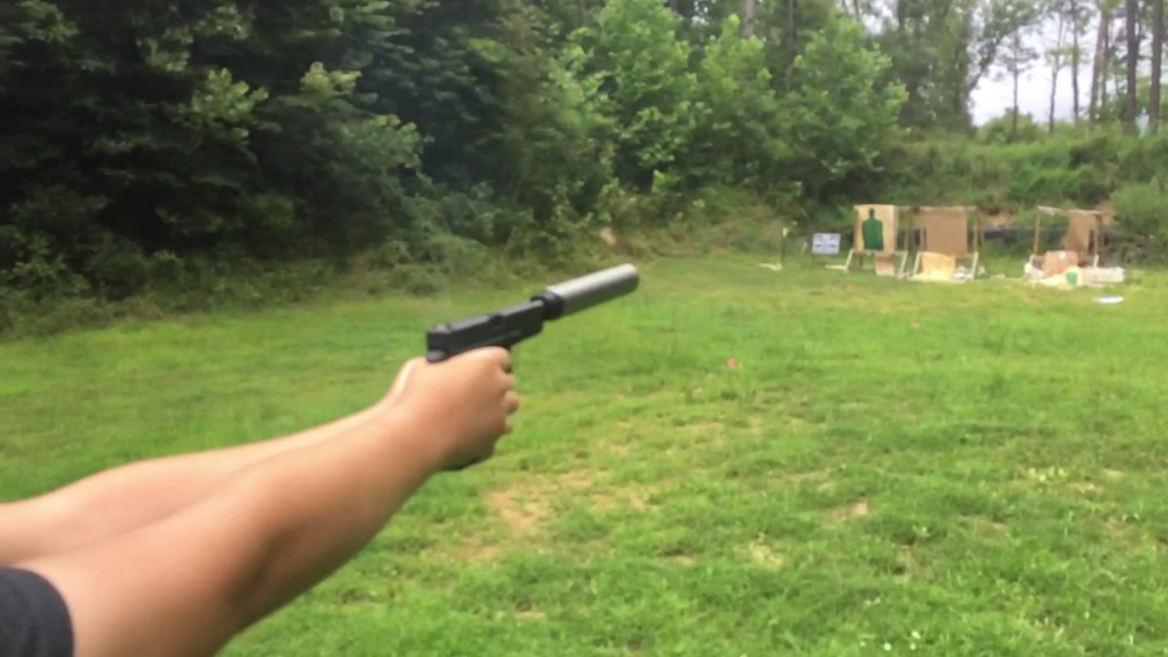 Glock 22 9mm Conversion Form 1 Suppressed
