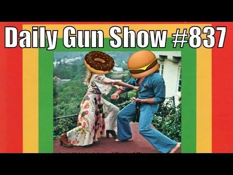 Donut vs. Hamburger Karate Battle - Daily Gun Show #837