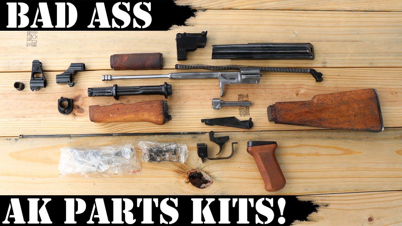 Bad Ass AK Parts Kits! Make Your AK Great Again!