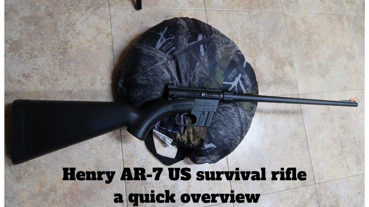 Henry AR-7 US survival rifle a quick  overview