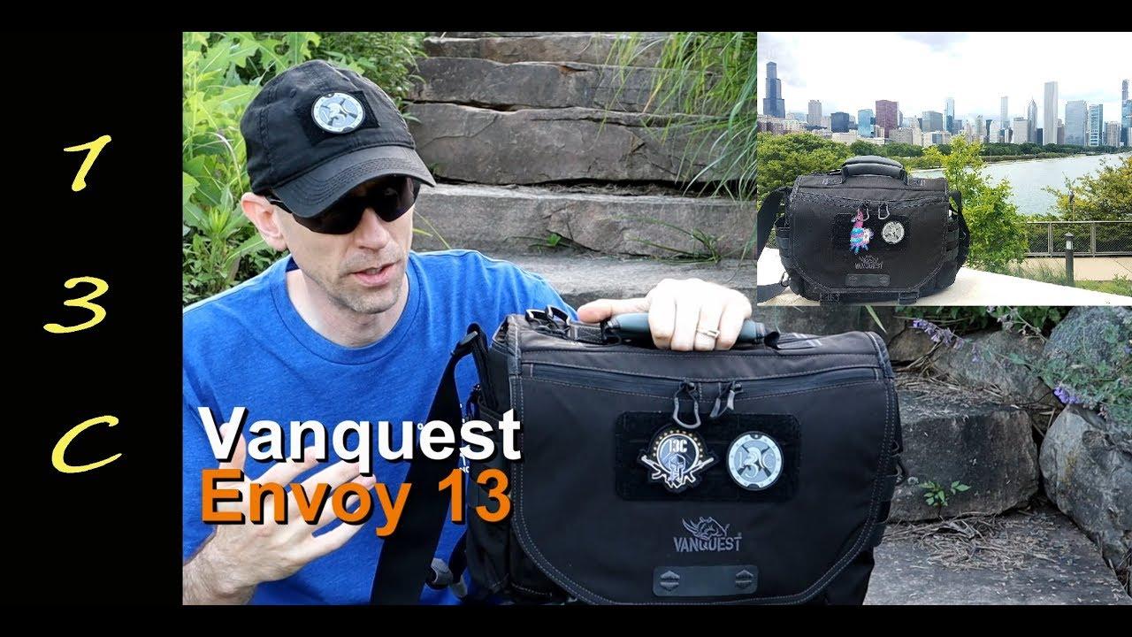 Vanquest Envoy 13 Messenger Bag