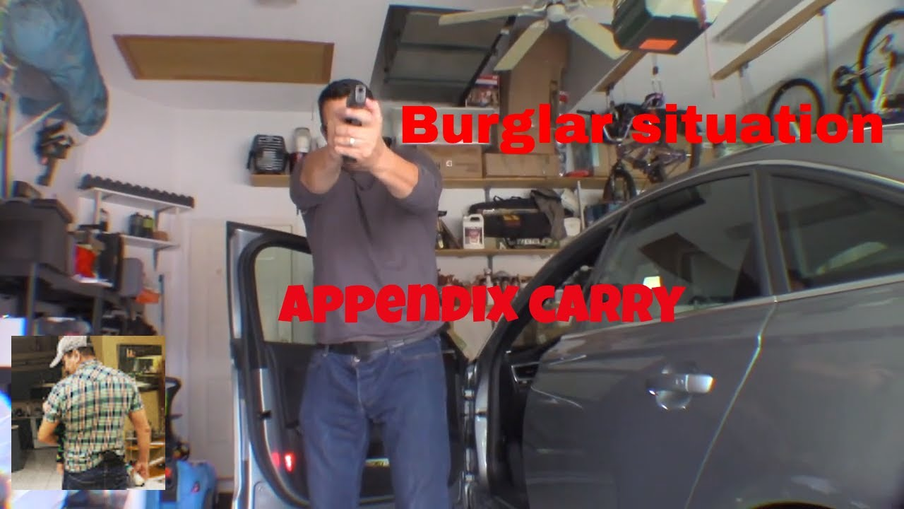 bring a knifz to a gun fight and why appendix carry is better !!