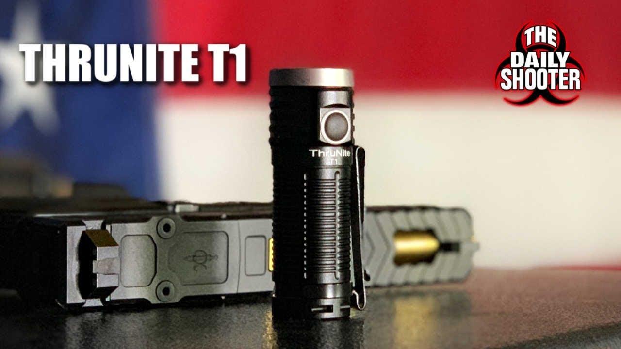 ThruNite T1 1,500 Lumens Under $40