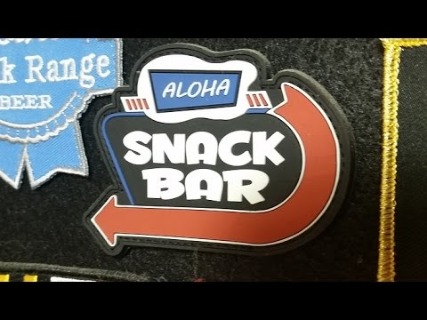 Aloha Snackbar - Patch of the Day