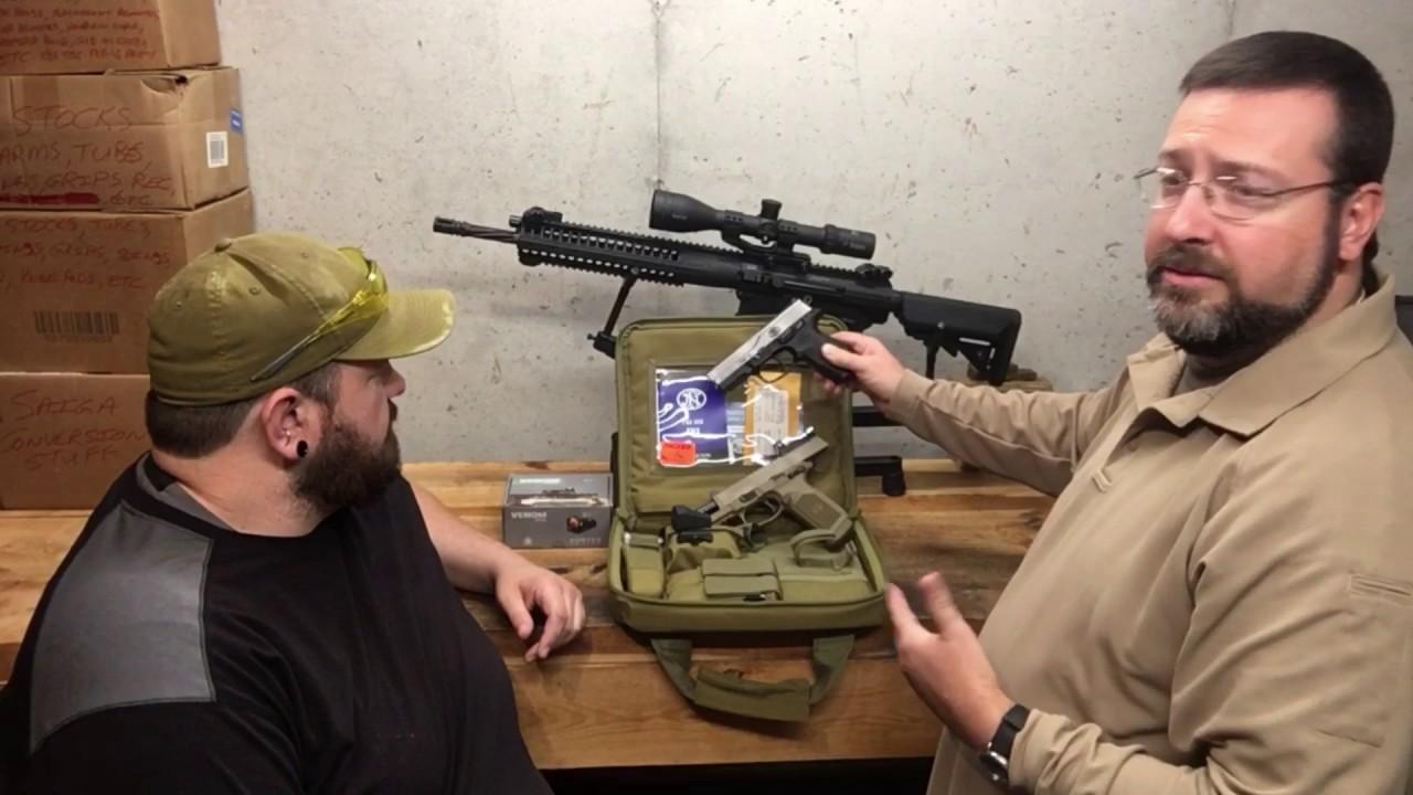 FNX 45 Tactical with Vortex Venom Red Dot Sight