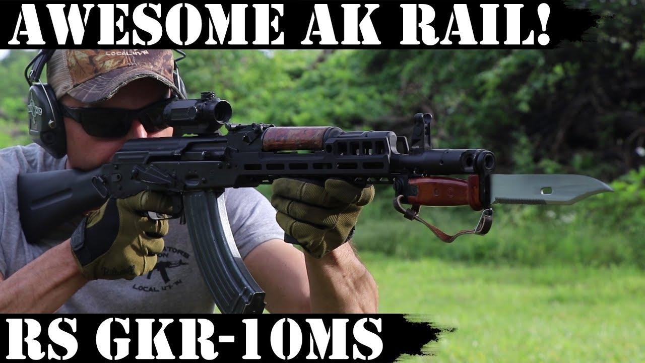 Awesome AK rail!