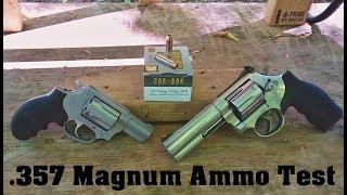 .357 Magnum Ammo Test Episode 2. Corbon 110 gr JHP