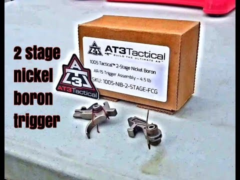 Best affordable AR upgrade 2 stage trigger from AT3 Tactical. Great 2 stage trigger cheapest.
