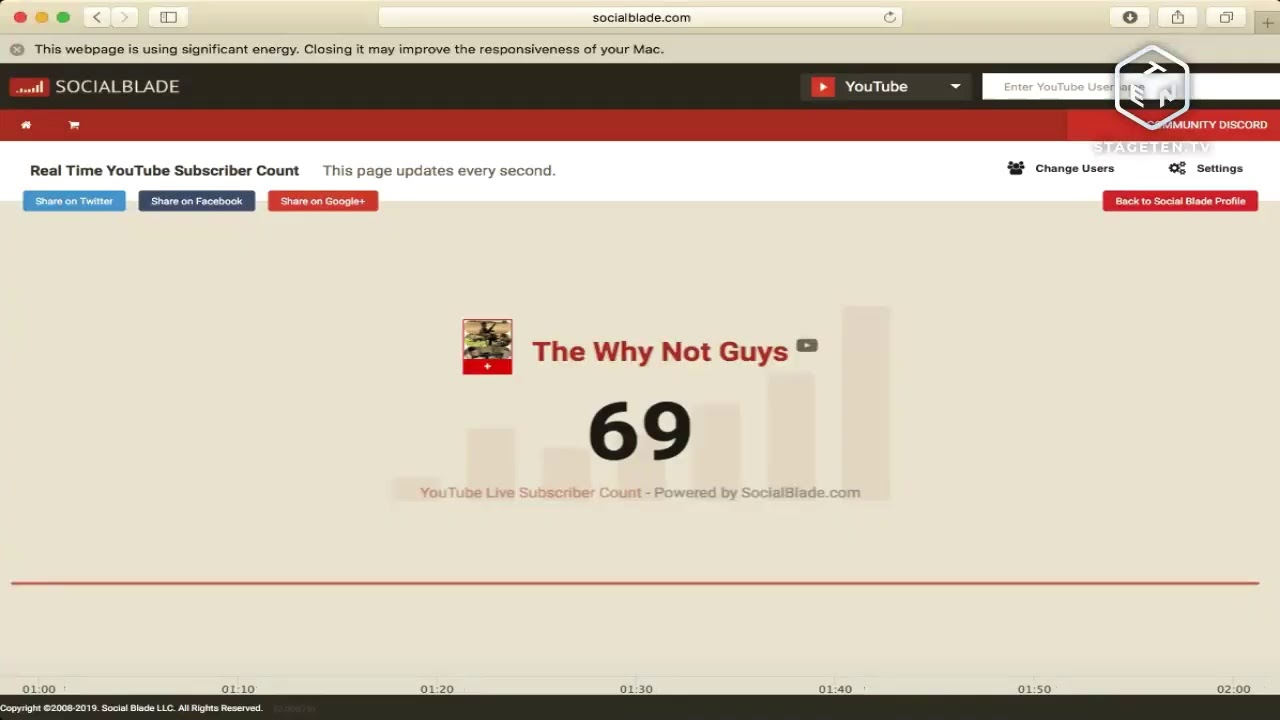 The Why Not Guys Live Stream