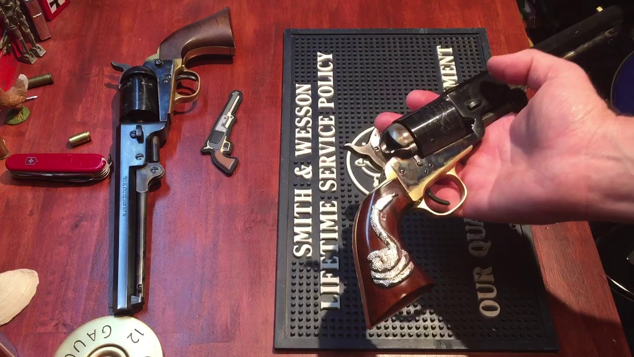 Review of the cimarron man with no name revolver from the good, the bad, and the ugly