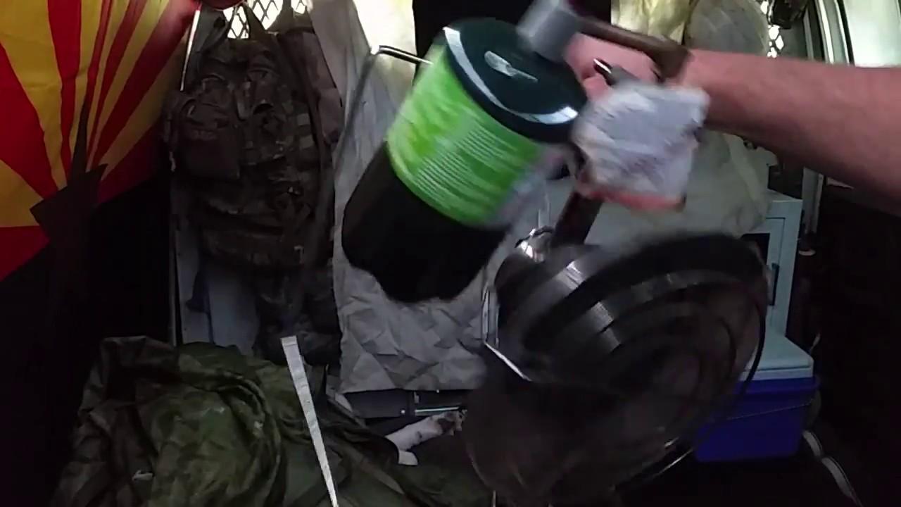 Van mod: multicam heater cozy