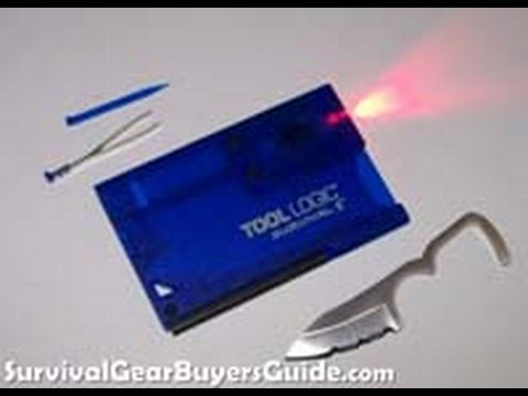 Tool Logic Survival II Card - Survival Kit Review Part Four