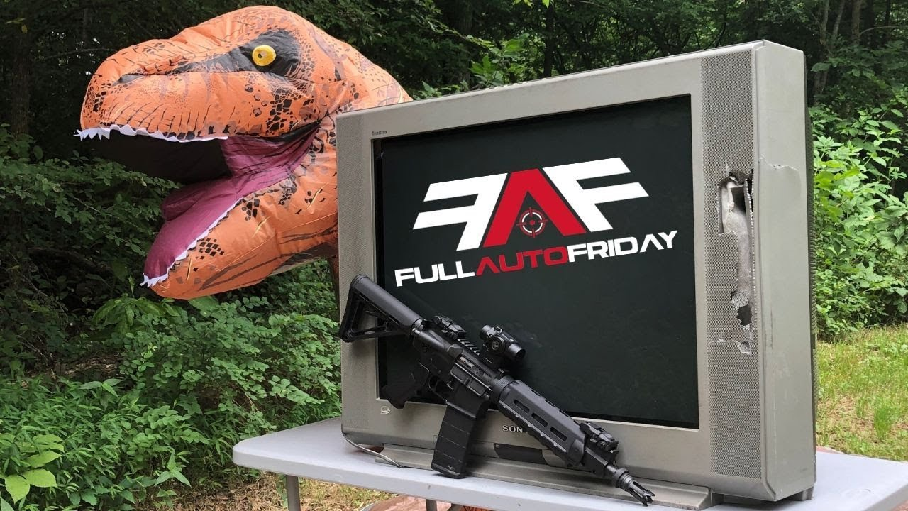 Full Auto Friday! AR-15 vs Tube TV 📺