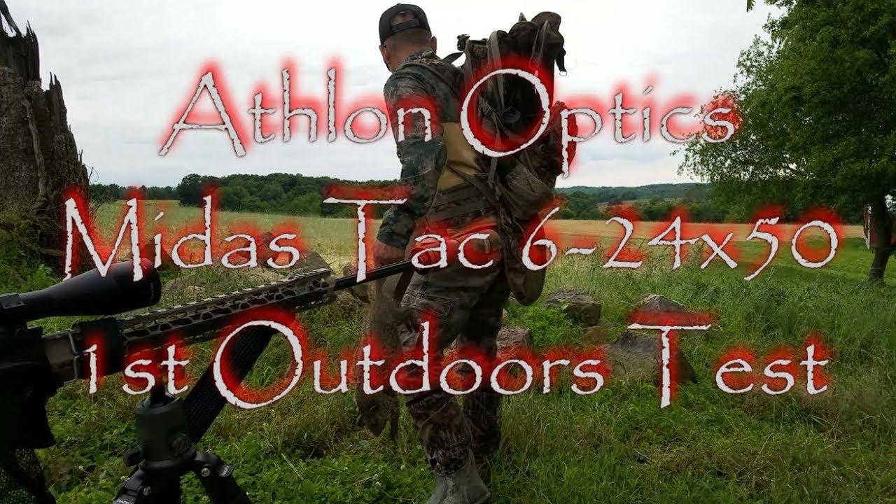 Athlon Optics Midas Tac Scope 1st Outdoors Test