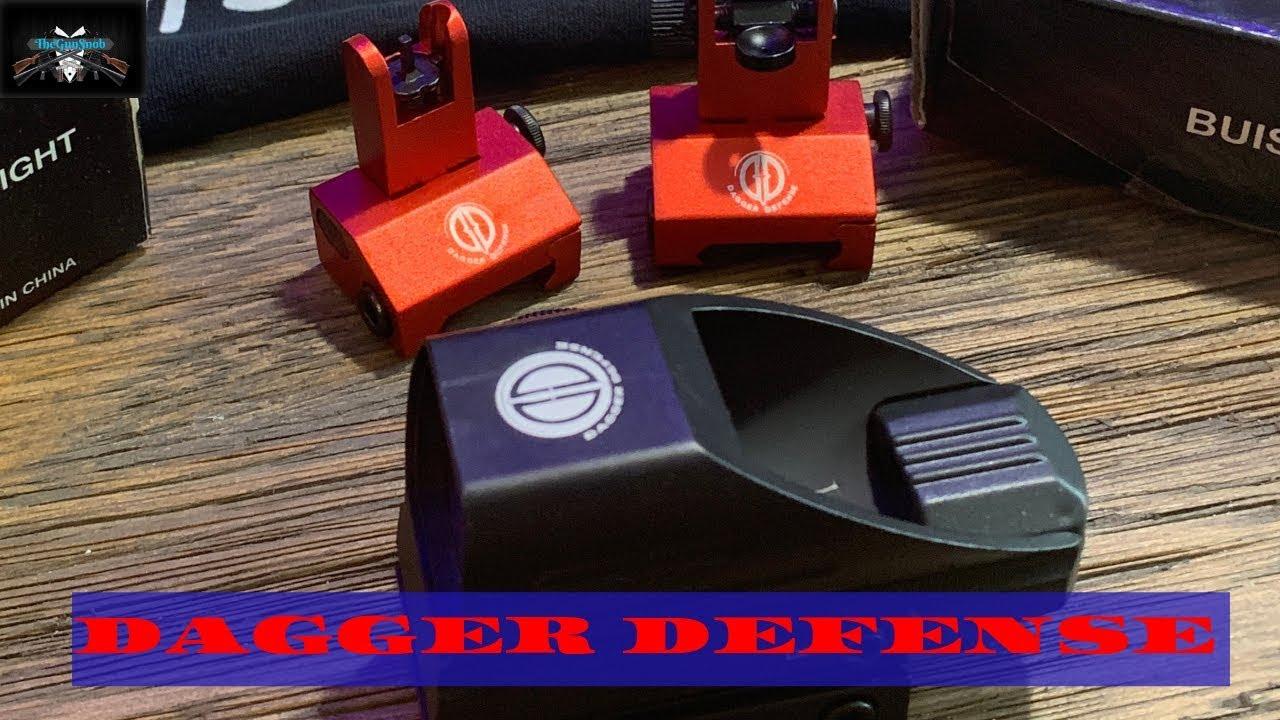Dagger Defense DDH-B Green and Red Dot Reflex Sight