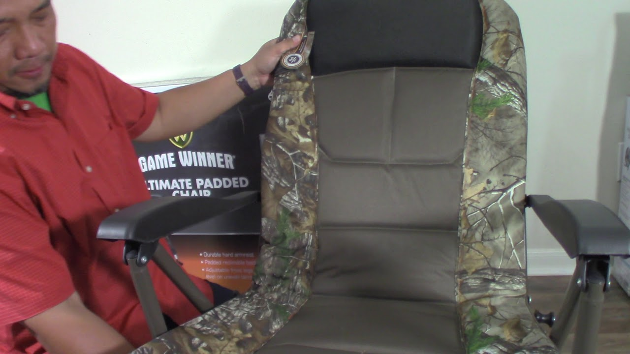 GAME WINNER ULTIMATE PADDED CHAIR