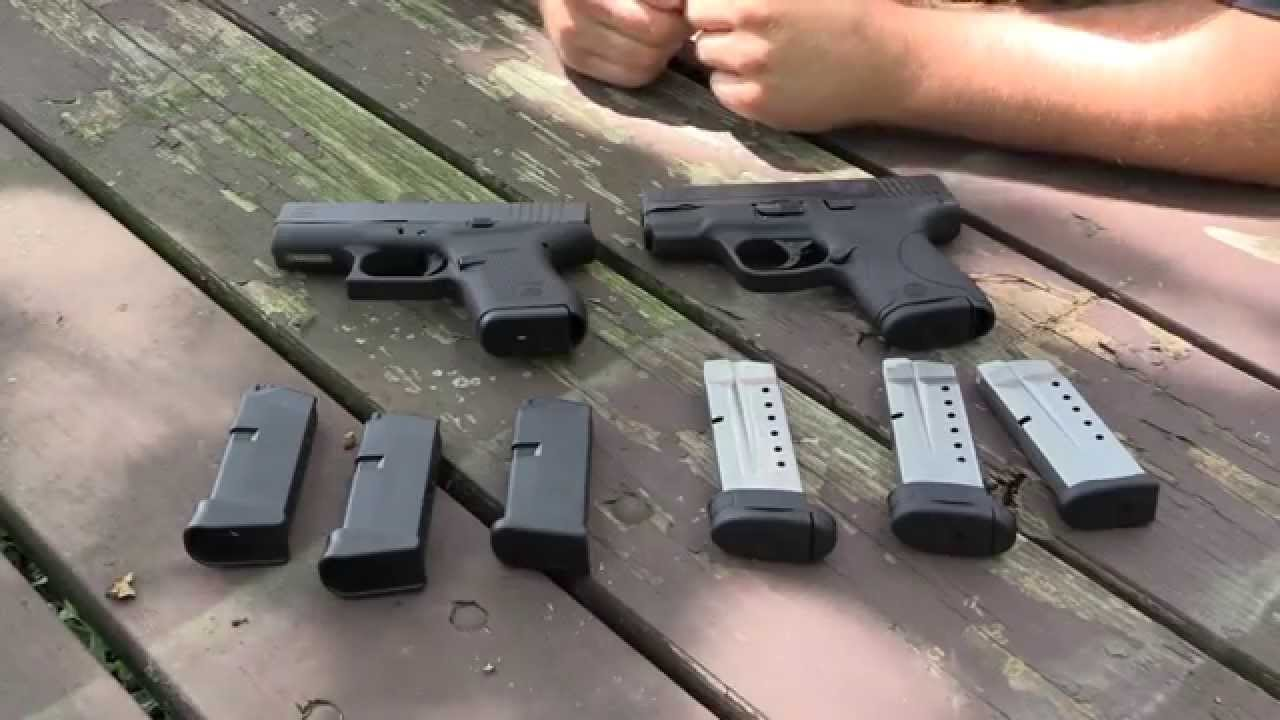 Glock 43 vs M&P Shield | Which one do you choose??