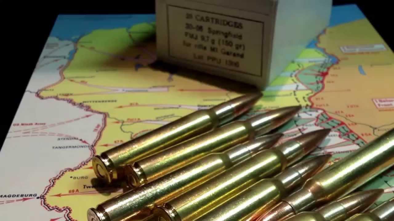 30-06 M1 Garand Ammunition