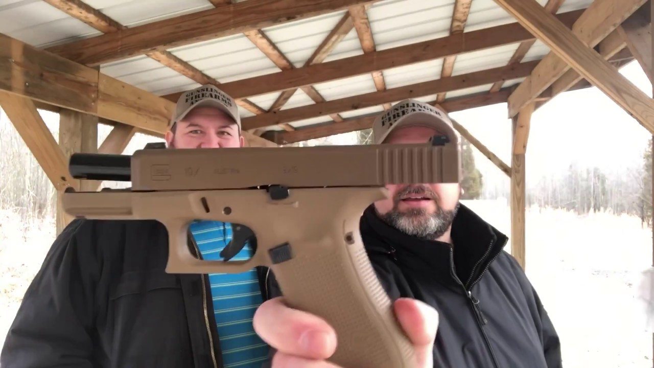 Glock 19X First Shots