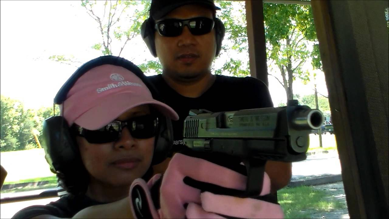 M&P40 TO 9MM SHOOTING