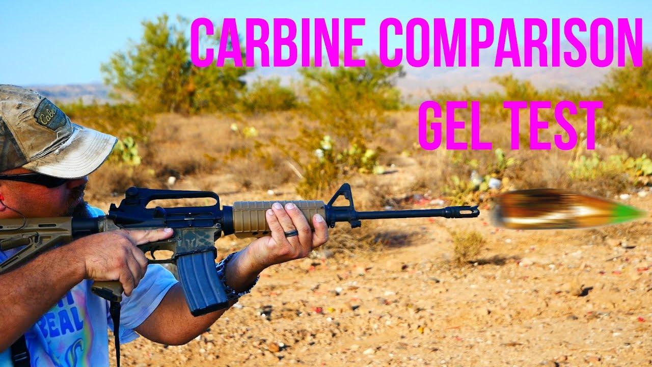 Carbine Comparison: 5.56x45mm M855 and .223 Rem 55gr FMJ 16