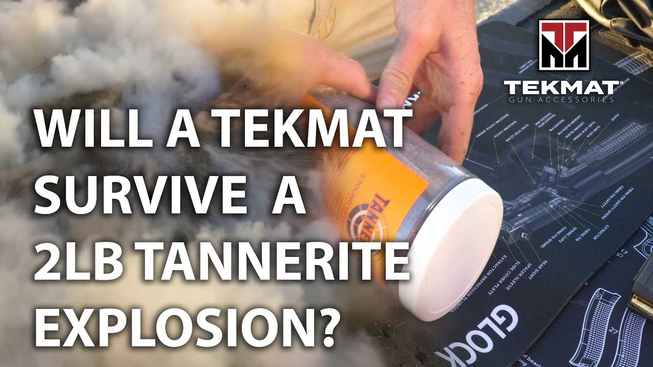Will a TekMat Survive a 2lb Tannerite Explosion?