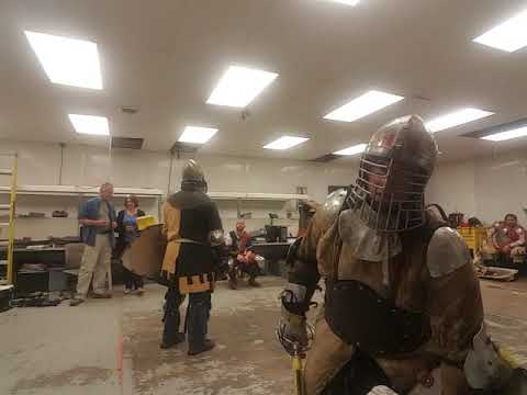Sword and Shield Fighting- 5/30/19 - #3