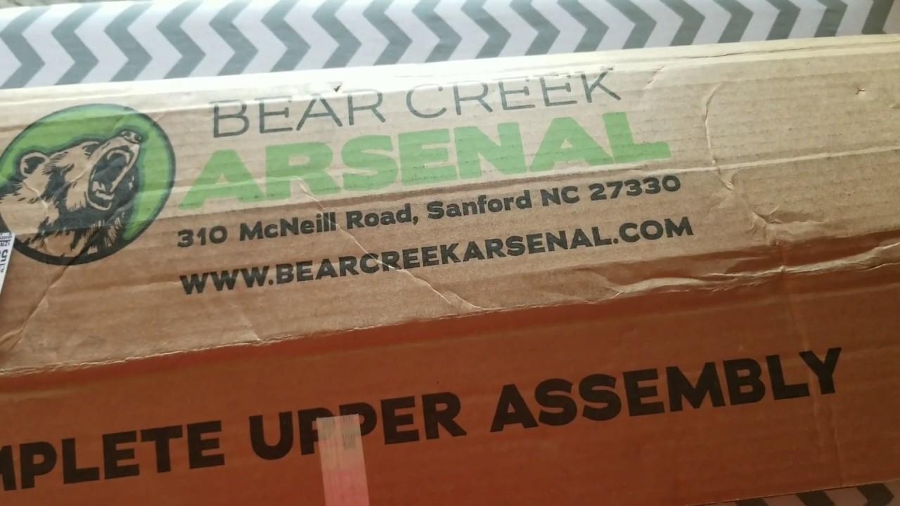 Bear Creek Arsenal Upper Unboxing