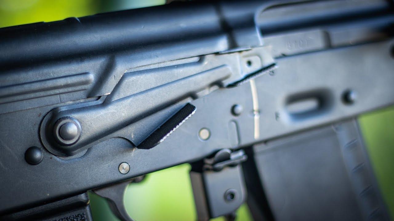 AK Enhanced Safety Lever