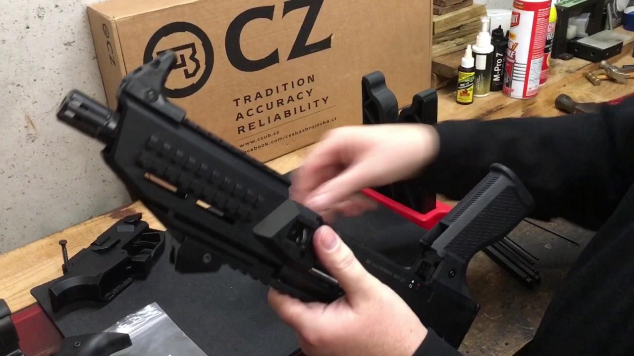CZ Scorpion EVO 3 S1 Grip Install