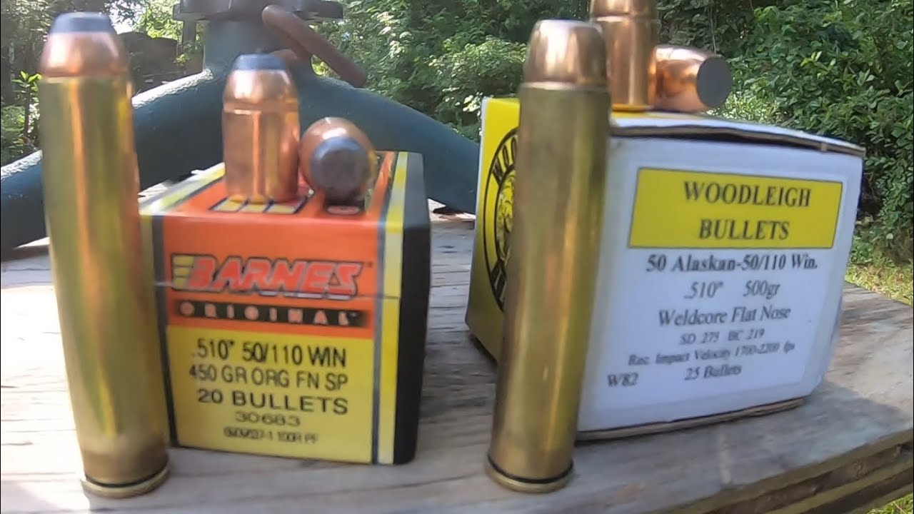 Barnes 450 grain bullet for the 50-110 WCF
