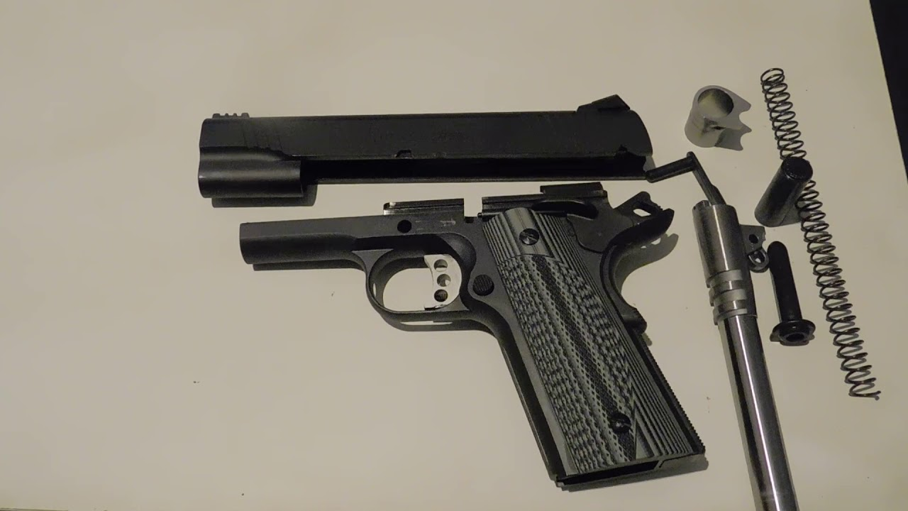 Remington R1 Enhanced 1911-Field Strip
