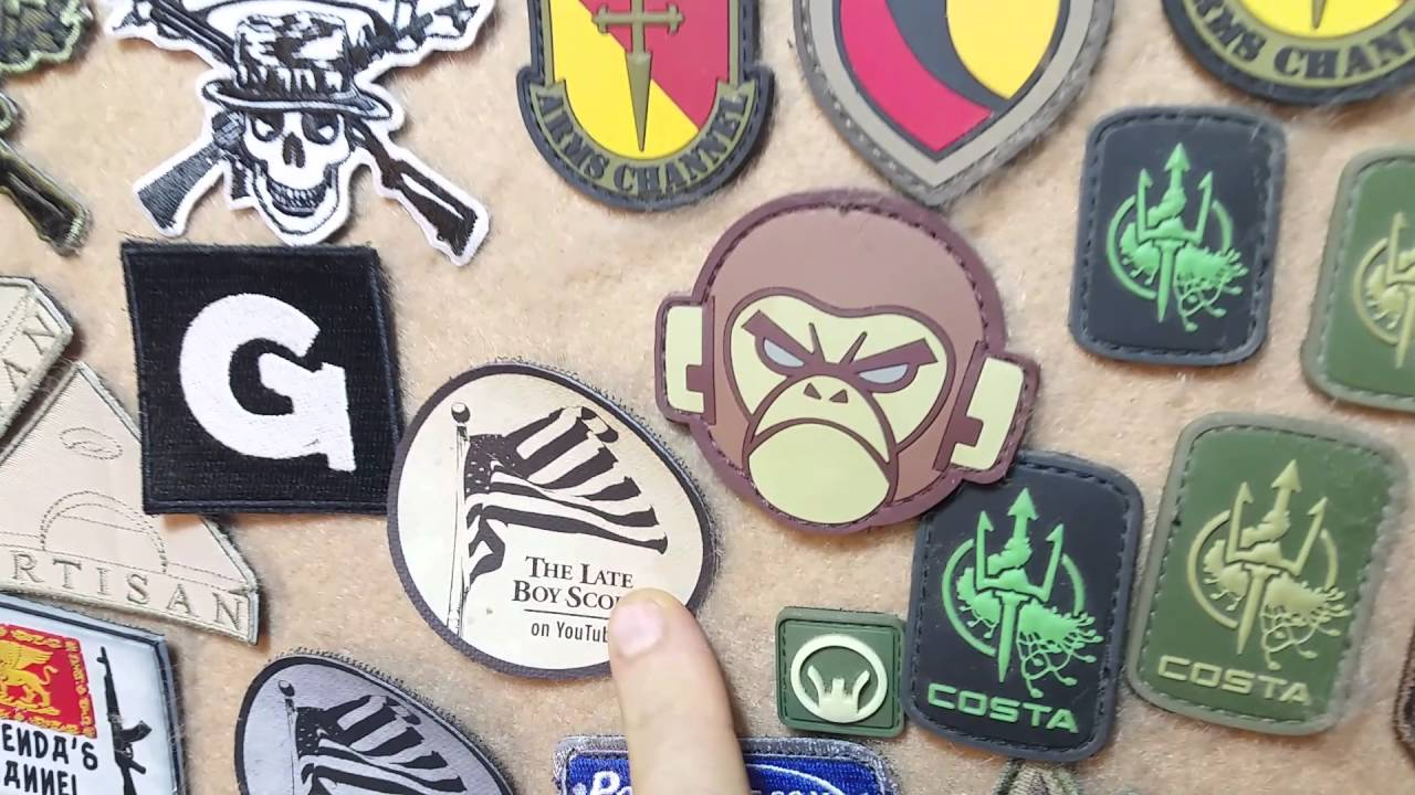 Late Boy Scout - Patch of the Day