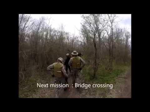 SKIRMISH AT TANK'S BRIDGE CROSSING FEBRUARY 2017
