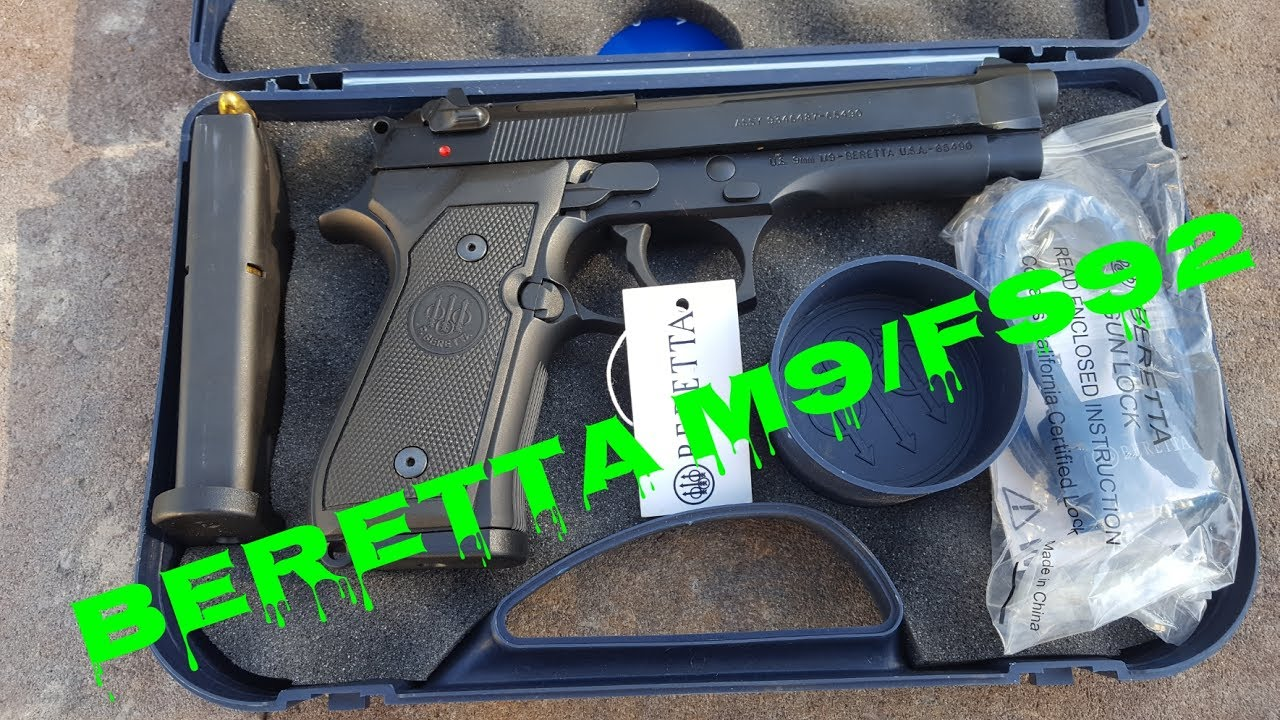 Beretta M9 fs92 9mm
