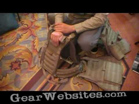 Mystery Ranch Armor System at SHOT Show 2010