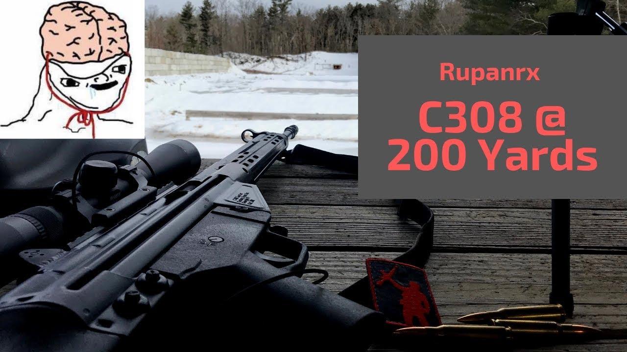 C308 BDC @ 200 yards Lesson. #BuyTheRightAmmoNextTime