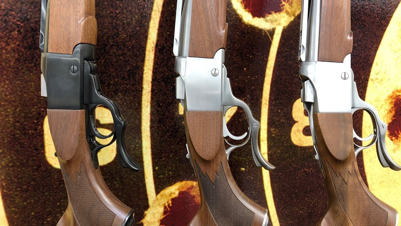 Lipsey's Exclusive: Three Ruger No.1 Exclusives