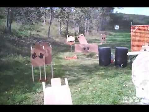 Appanoose County Shooting Club 3-gun match 09/21/14 Jeff