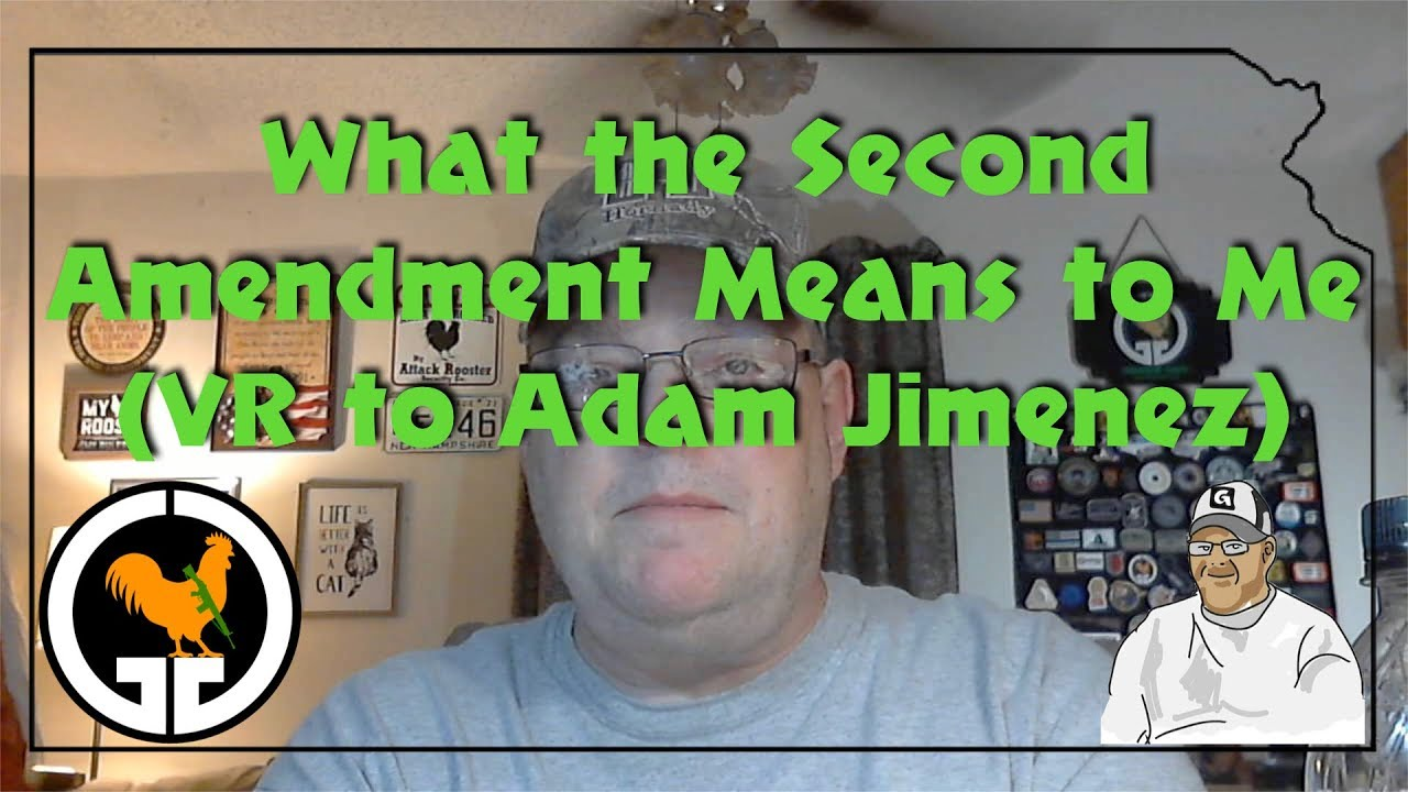 What the Second Amendment Means to Me - VR to Adam Jimenez