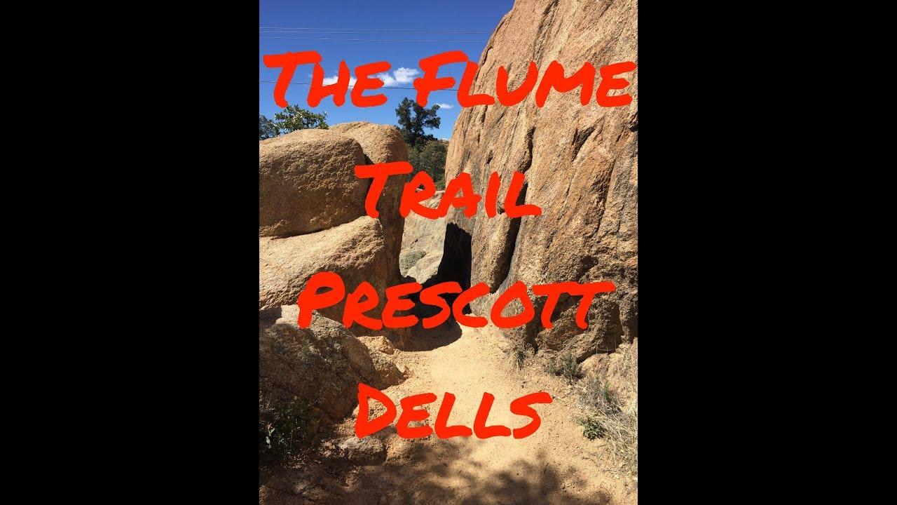 🌎 Flume Trail in the Prescott Dells, AZ