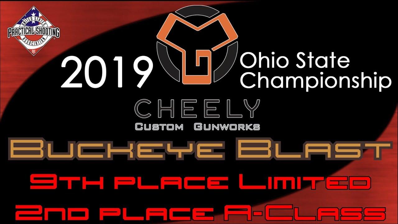 2019 Buckeye Blast (Cheely Custom Gunworks Ohio State Championship)