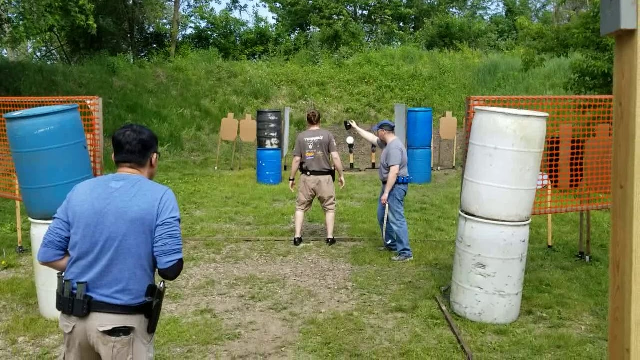 CHRIS SHOOTS USPSA 06/09/19 STAGES 1-4