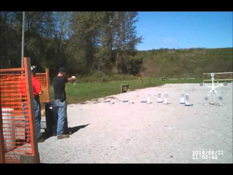 Appanoose County Shooting Club 3-gun match 09/21/14 Stage 2
